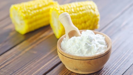cornstarch for sweating