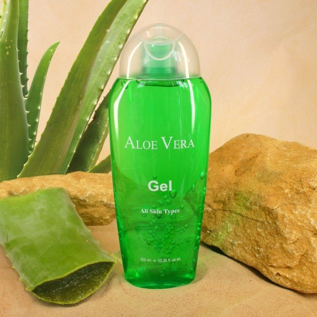 aloe vera gel for acne scars