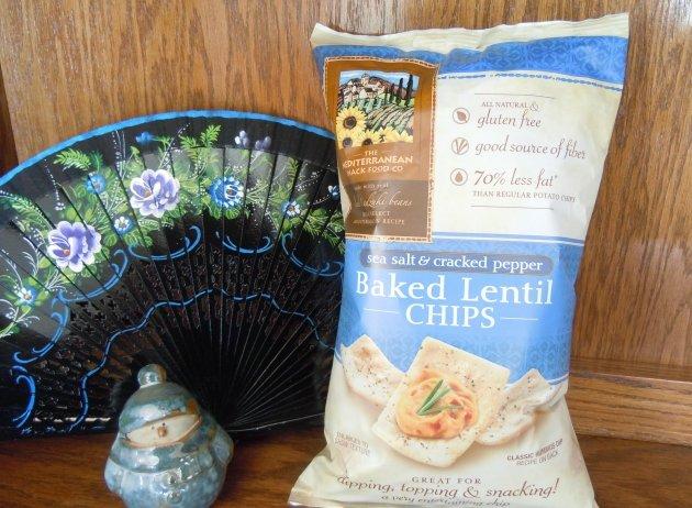 gluten free lentil crisps