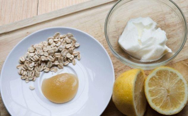 oatmeal lemon juice