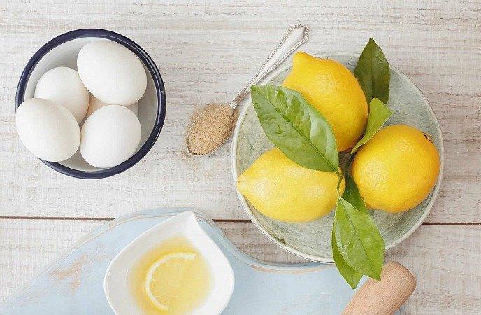 egg white and lemon mask