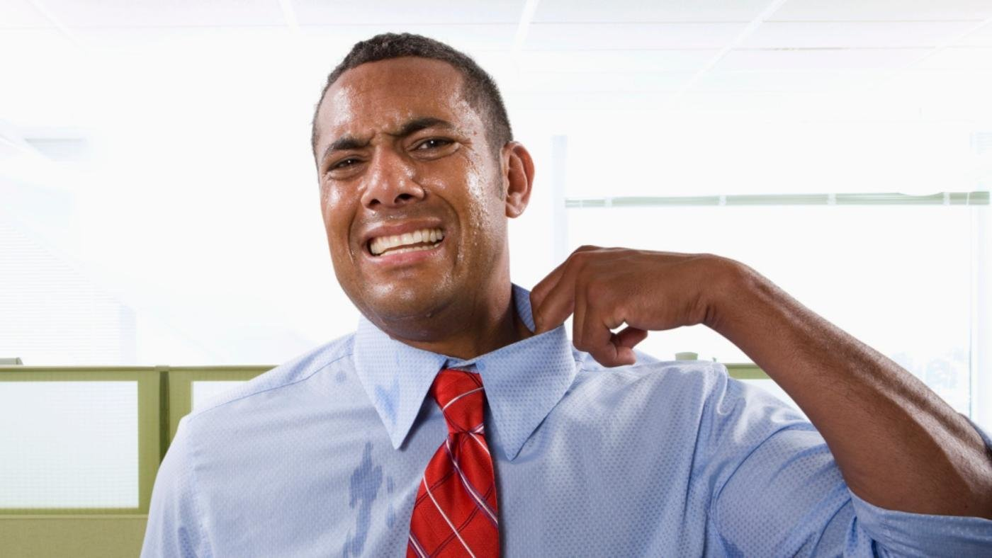 how to stop excessive sweating naturally
