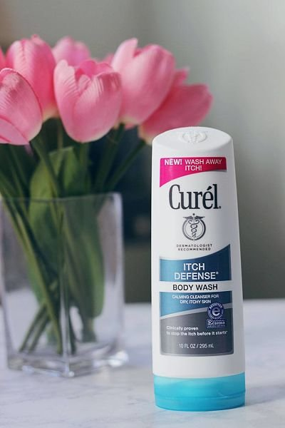 curel skincare itch defense body wash