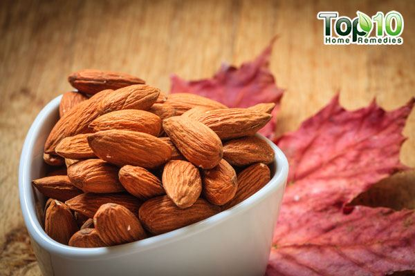 raw almonds for heartburn