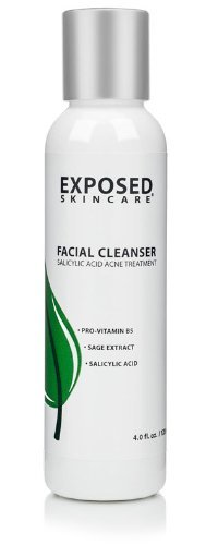 exposed skincare facial cleanser