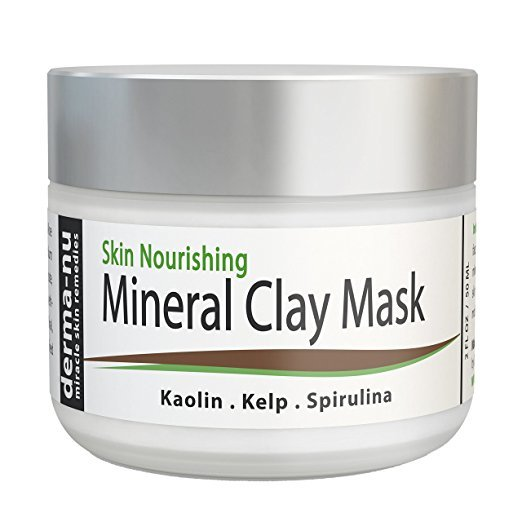 derma nu mineral clay mask