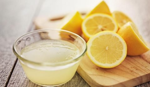 how to get rid of pimples with lemon juice