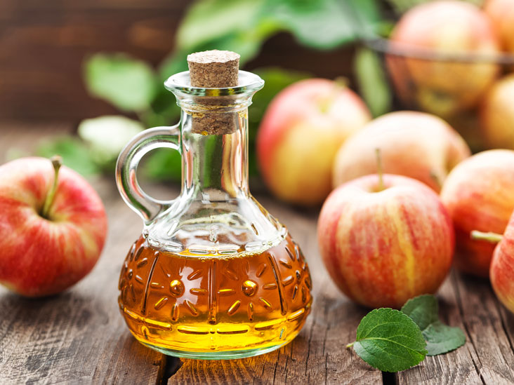 apple cider vinegar for moles