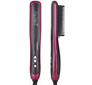 AsaVea Hair Straightening Brush 2